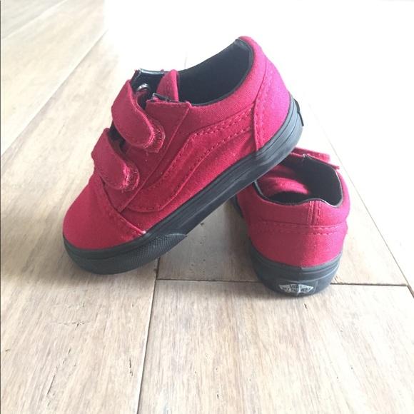 Rare Vans Old Skool V Toddler Shoes Size 6 dec2efca8